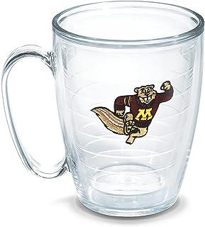 Tervis 1048817 Minnesota University Emblem Individual Mug, 16 oz, Clear