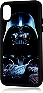 (for iPhone Xs) Durable Protective Soft Back Case Phone Cover - HOT0125 Starwars Darth Vader 0125