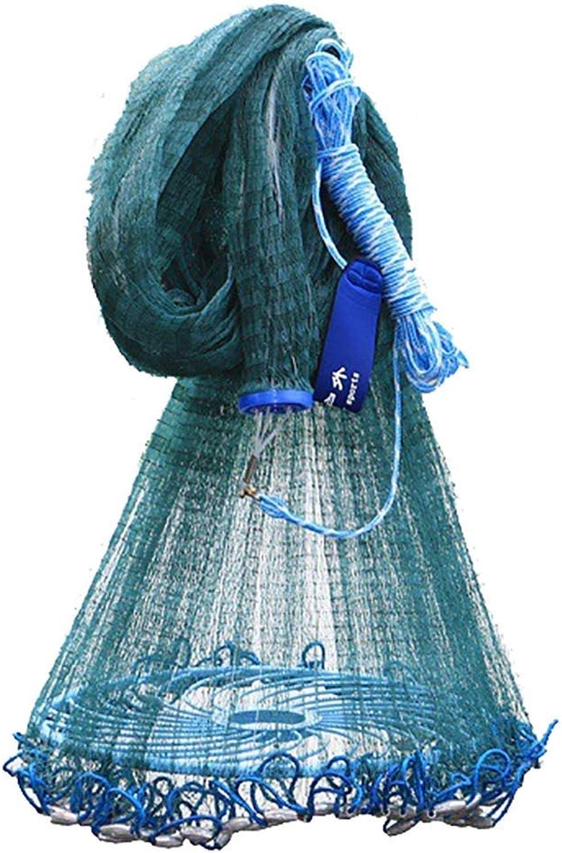 Fischernetze deko Disc-Typ Fischernetz Groes Netz Handwurf Kderfalle Tragbar Faltbar Tragbar Leichtgewichtig Einfach Zu Bedienen Multi-Gre Optional Spielzeug für Kinder