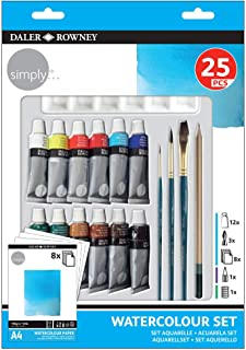 Simply Watercolour Set, Assorted