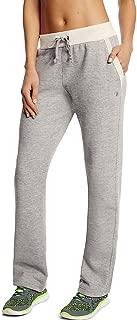 Womens Fleece Open Bottom Pants