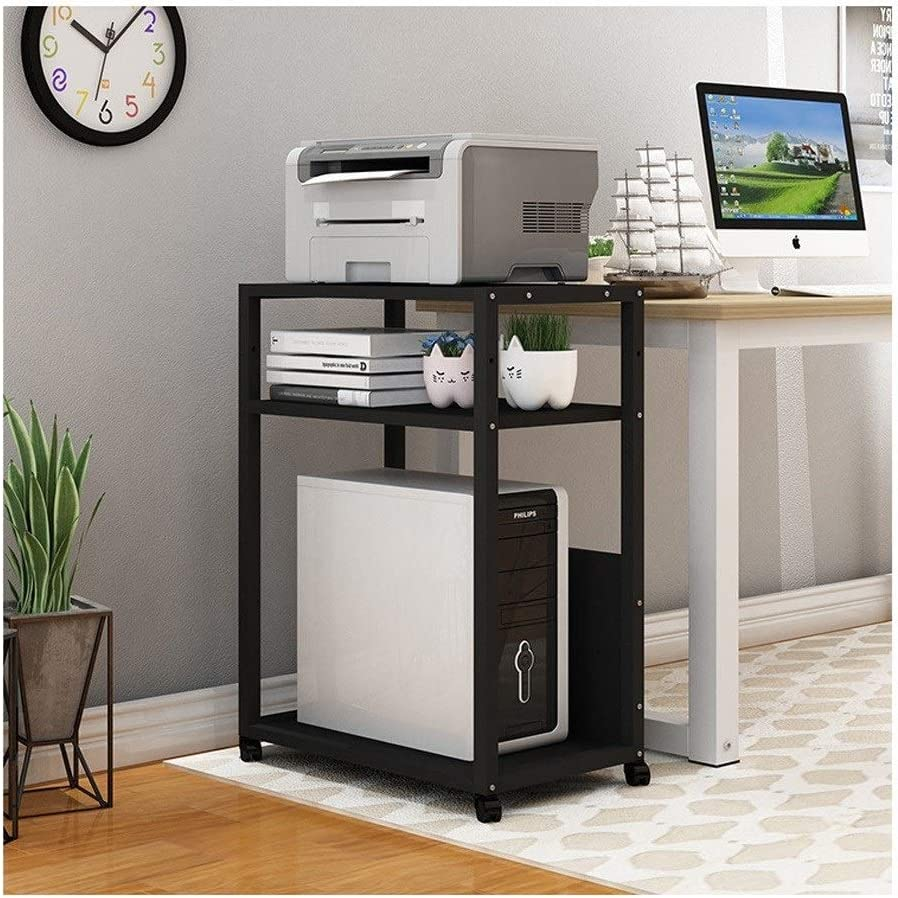 Over item handling ☆ YCSX Desk Side Printer Multi-Layer Shelf Credence Household Stand