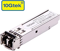 1.25G SFP 1000Base-SX, 850nm MMF, up to 550 Meters, Compatible with Netgear AGM731F