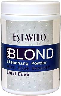 ESTAVITO Ultra Light Blonder Powder 425GM| Hair Lightening | Bleaching | Highlighting | DUST FREE HAIR BLEACHER FOR MEN & ...