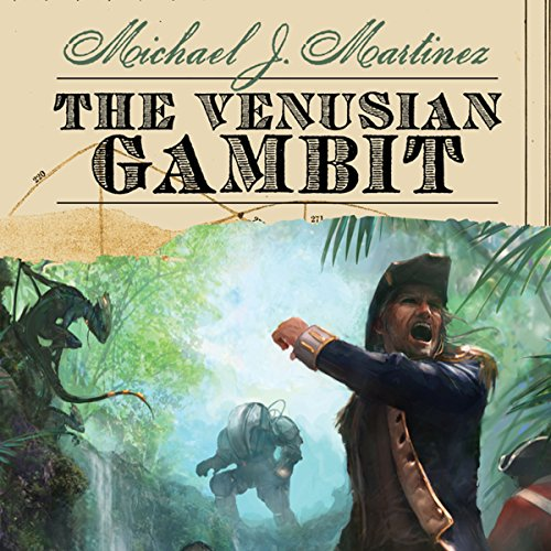 The Venusian Gambit audiobook cover art