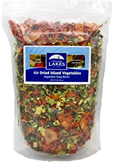 Thousand Lakes Dried Mixed Vegetables Soup Blend - Bulk - 2 pounds   100% Veggies   No Added Salt