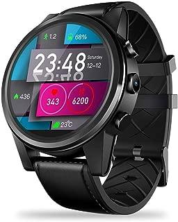 myonly Smart Watch SmartWatch for Zeblaze Thor 4 PRO 4G 1.6 inch Crystal Display GPS/GLONASS Quad Core SmartWatch 16GB 600mAh Hybrid Leather Straps Smart Watch for Men