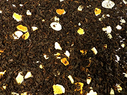 Marzipan Orange Schwarzer Tee Naturideen® 100g