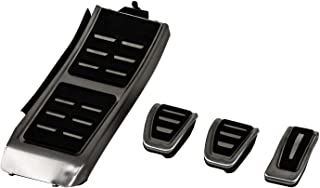 OptimumParts24 Pedalkappen Set MT_6 passen für A4 S4 A5 A6 Q5 S5 A7 2012 2013 2014