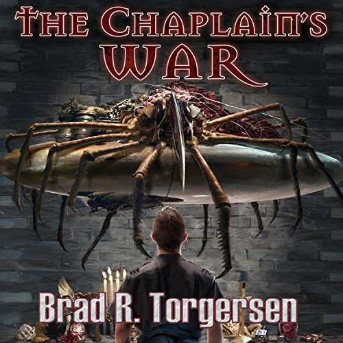 The Chaplain's War audiobook cover art