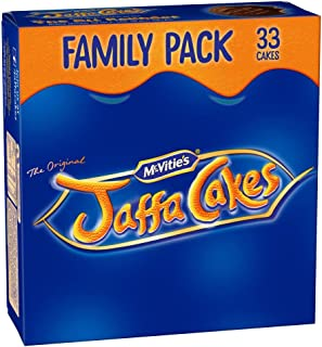 Original McVitie's Jaffa Cakes Big Pack Imported From The UK England The Very Best Original British Jaffa Cakes A Genoise Sponge Base Layer Of Orange Flavored Jam Coating Of SpongeMc Vities Jaffa Cak