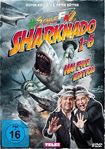 Sharknado Pentalogie (5 DVDs)