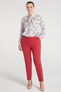 Pera-Kadın Basic Pantolon - Turuncu