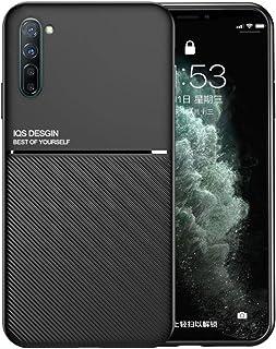 جراب لهاتف OPPO Reno 3 Pro 5G للحماية من الصدمات جراب هاتف نحيف TPU ممتص للصدمات ناعم ومرن وخفيف الوزن أسود