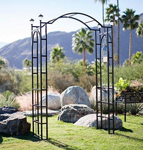 Outdoor Garden Arch 7.5-ft Tall W/ 4...