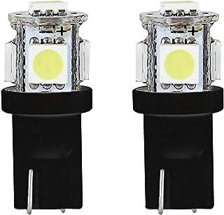 Pilot Automotive (IL-194W-5-AM) White 5-SMD LED Dome Light Bulb - 2 Piece