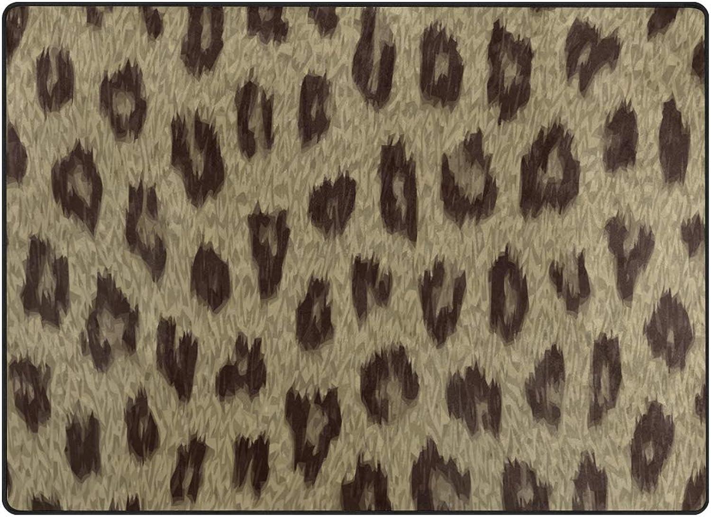 FAJRO Leopard Print Painting Rugs for entryway Doormat Area Rug Multipattern Door Mat shoes Scraper Home Dec Anti-Slip Indoor Outdoor