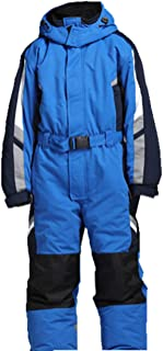 Genma0 One-Piece Snowsuit Water Resistant Windproof Taslon Reflective for Adults/Men/Women