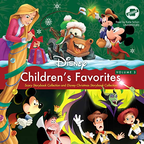 Children's Favorites, Vol. 3: Scary Storybook Collection and Disney Christmas Storybook Collection