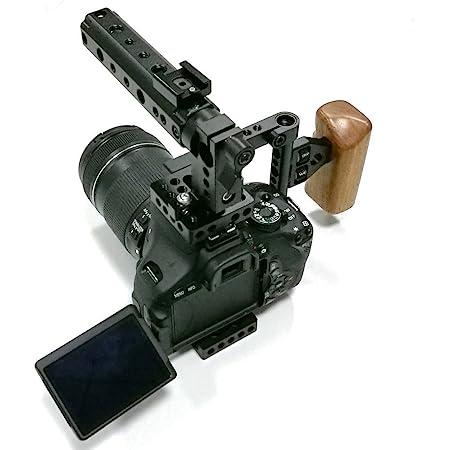 Camvate Dslr Kamera Käfig Top Griff Holzgriff Für 600d Kamera
