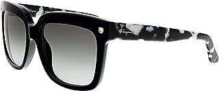 Ferragamo Salvatore Two Tone Plastic Frame Grey Gradient Lens Ladies Sunglasses SF676S001217875517