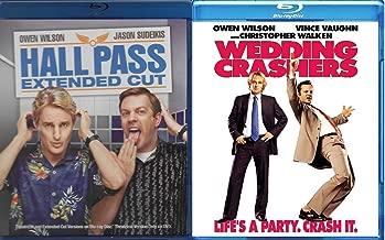 Owen Wilson Double Feature: Hall Pass / Wedding Crashers Blu Ray