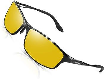Bircen Anti-Glare Polarized Night Driving Glasses