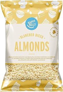 Amazon-Marke: Happy Belly Blanchierte gehackte Mandeln 200gr x 5