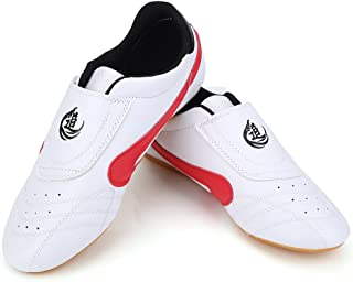 Taekwondo Boxing Shoes, Tai Chi Kongfu Shoes Lightweight Breathable Karate Traning Shoes for Men Women (Size : 39)