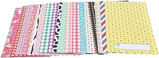 Baoblaze 20 Sheets Colorful Photo Sticker Borders Film Stickers for Fujifilm Instax Mini 8, 7S, 25, 50S, 90 Camera Film - E