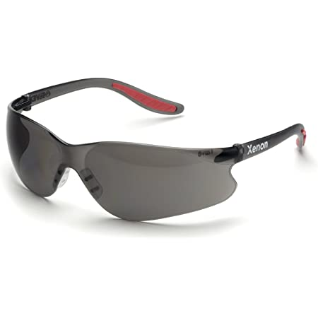 RX300 ELVEX Safety Glasses RX-300G-2.5 BLK//GRY