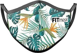 FITmask Mascarilla Reutilizable Lavable Certificada Tejido Hidrófugo Made in Spain Summer Paradise - Adulto Orejera - M