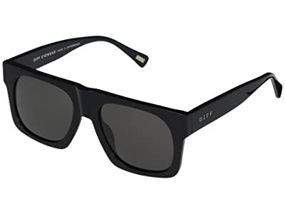 DIFF Eyewear Duke (Black/Grey) Fashion Sunglasses