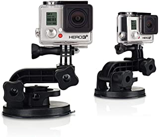 Ozone Strong Car Suction Cup Mount with Adapter for GoPro Hero 4/3 Session