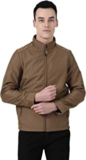 Monte Carlo Brown Solid Polyester Hood Jacket