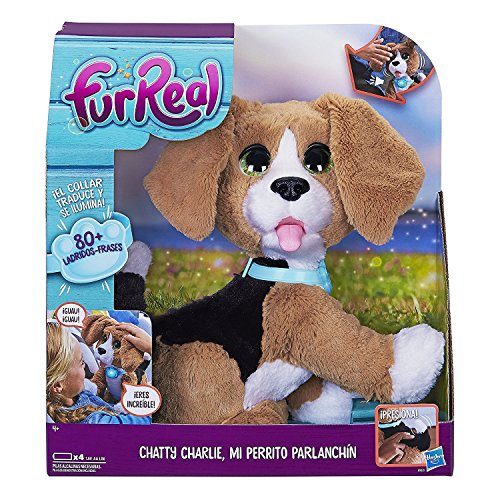 FurReal Friends – Plush Charlie, My Dog Parlanchin (Hasbro b9070105)