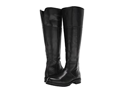 Frye Veronica Shearling Tall (Black) Women