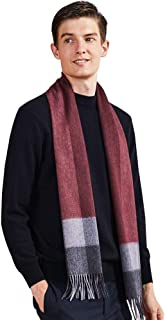 Accessories Cashmere scarf men's winter wild simple warm scarf Men's autumn and winter scarf British classic scarf Fashion...