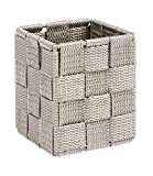 Wenko 22578100Adria cubo cestino portaoggetti PP tortora 7,5x 7,5x 9 cm (lu x la x a)