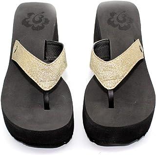 Chinelo Barth Shoes Aloha Glitter Ouro
