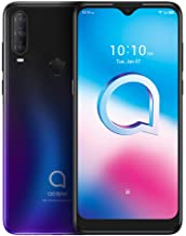 "$132 » Alcatel 3 2020 (64GB, 4GB RAM) 6.22"" HD+, 4000mAh Battery, Finger Print + Face Unlock, GSM Unlocked Global 4G LTE (T-Mobil..."