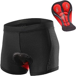 Lixada Men Cycling Underwear Shorts Breathable Gel Padded MTB Biking Riding Shorts