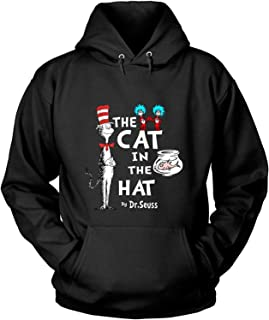 LeetGroupAU The Cat in The Hat T Shirt by Dr. Seuss T Shirt - Long Sleeve Tees