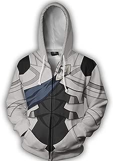Fire Emblem If Heroes Fateful Prince Corrin Zip Up Hoodie Hooded Coat Jacket