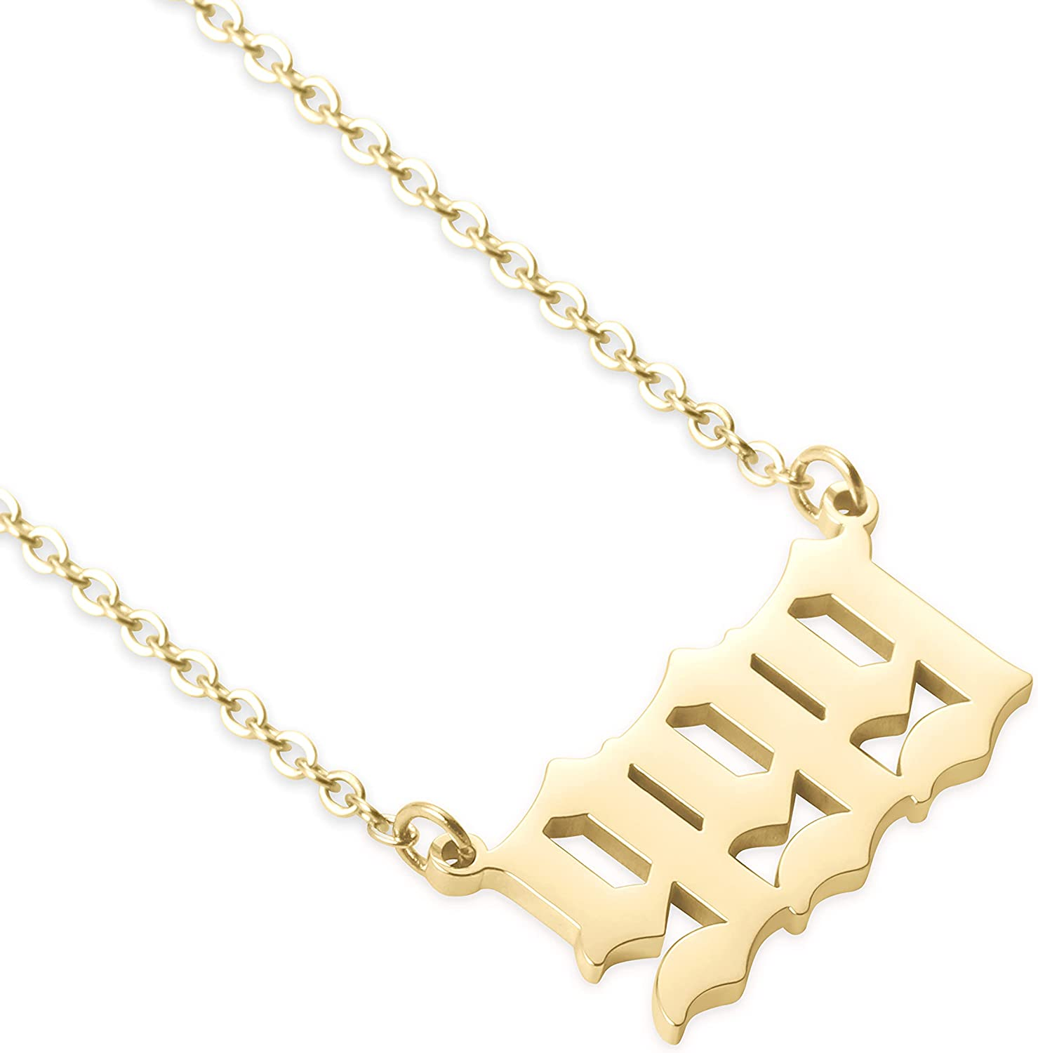 Angel Number Necklace for Women 111 222 666 333 777 555 Manufacturer regenerated product 444 888 Daily bargain sale
