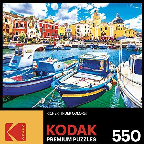 Kodak 550 Piece - Colorful Procida Island and Boats Italy