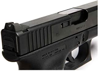Wilson Combat 669B Vickers Elite Serrated Battlesight for Glock, Black