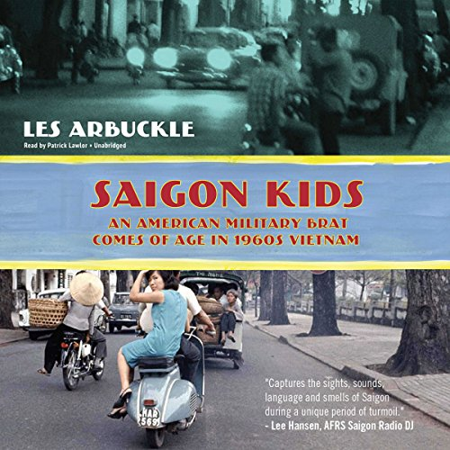 Saigon Kids audiobook cover art