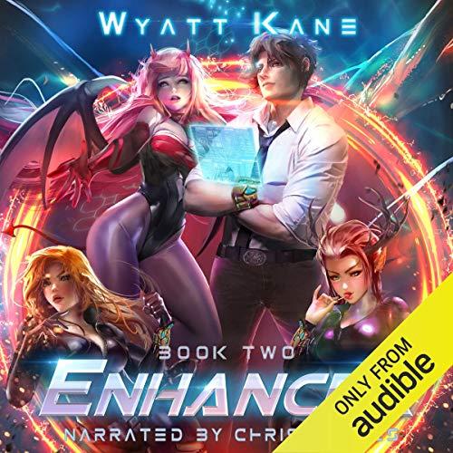 Enhancer 2 audiobook cover art