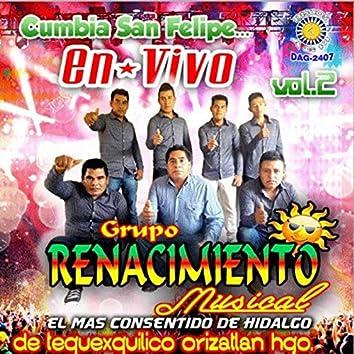 Cumbia San Felipe En Vivo Vol. 2